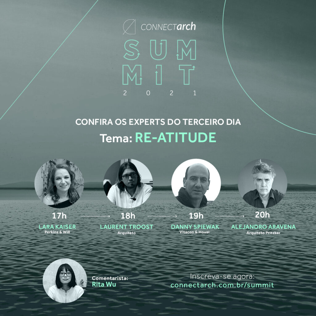 Connectarch Summit: conheça os palestrantes do 3º dia