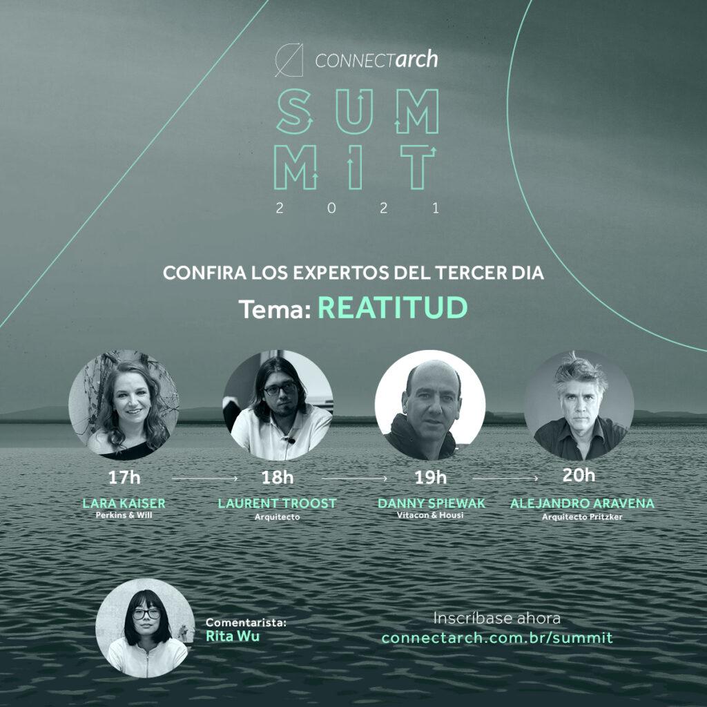 Connectarch Summit: conozca los conferencistas del 3º día