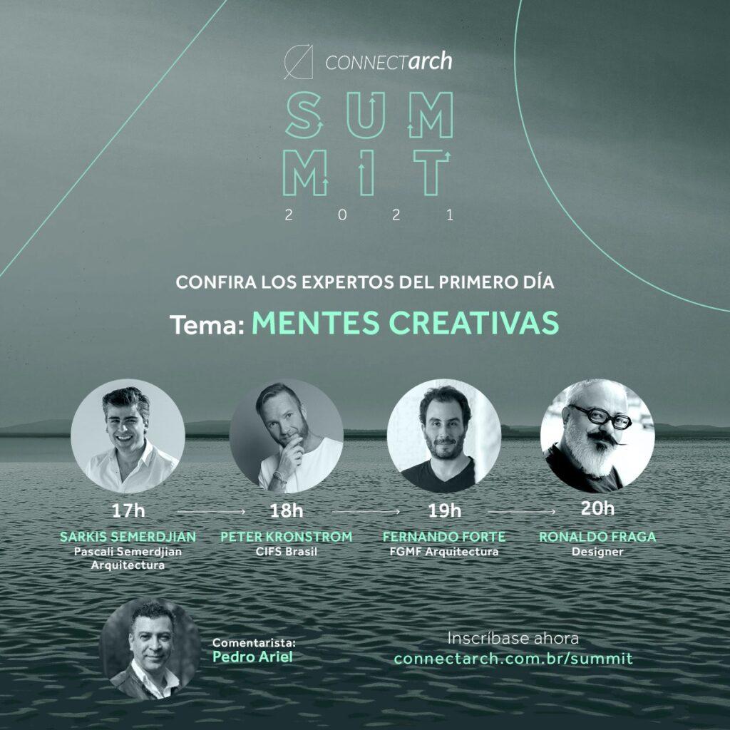 Connectarch Summit: conozca los conferencistas del 1º día